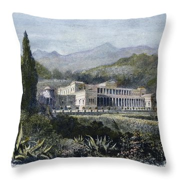 Roman Villa Throw Pillow by Granger