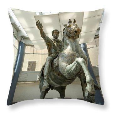 Showpiece Throw Pillows Fine Art America