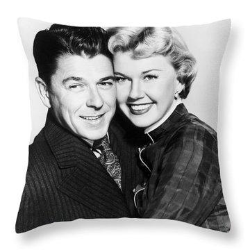 Ronald Reagan (1911-2004) Throw Pillow by Granger