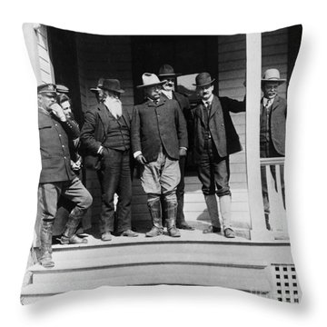 Roosevelt & Burroughs, C1903 Throw Pillow by Granger