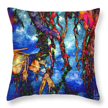 Throw Pillow featuring the photograph Roots by Irina Hays