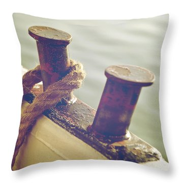 Rope Throw Pillow by Joana Kruse