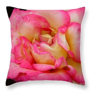 Rose 2 Throw Pillow by Mark Gilman