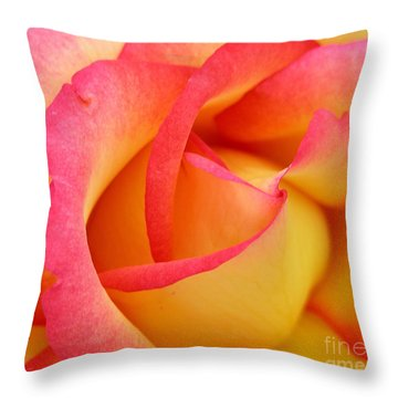 Rose 3 Throw Pillow by Mark Gilman