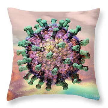 Rotavirus 2 Throw Pillow