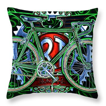 Rotrax Throw Pillow