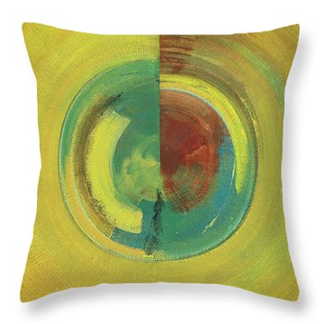 Rounded Throw Pillow