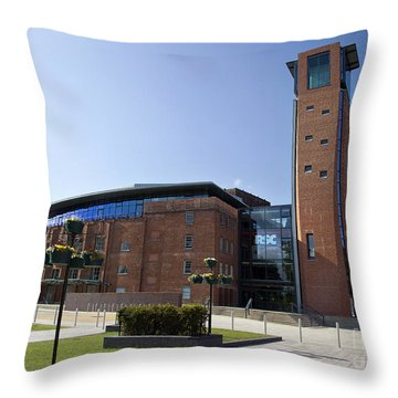 Royal Shakespeare Theatre Throw Pillow by Jane Rix