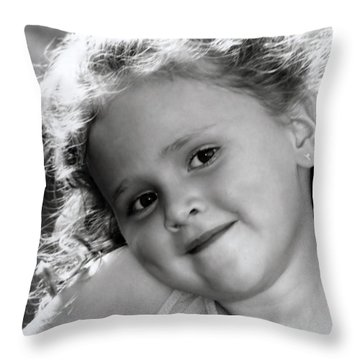 Rportrait Throw Pillow