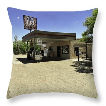 Throw Pillow featuring the photograph Rtt 66 by Paul Plaine