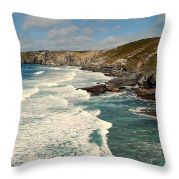 Throw Pillow featuring the photograph Rugged Beauty by Lynn Hughes