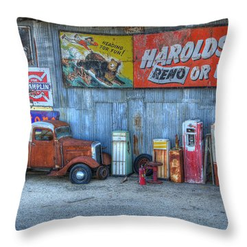 Rural America Throw Pillow by Bob Christopher