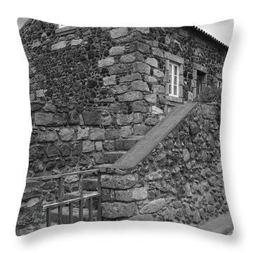 Rural Home Throw Pillow by Gaspar Avila