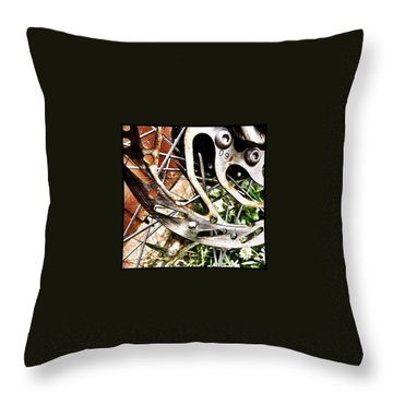 Cycling Throw Pillows