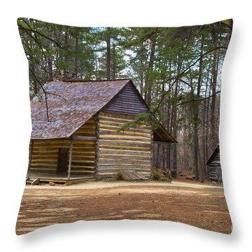 Rustic Living Throw Pillow