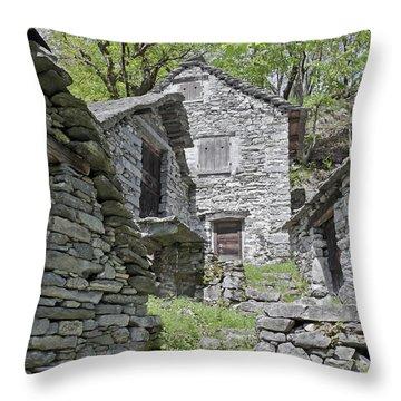 Rustici Throw Pillow by Joana Kruse