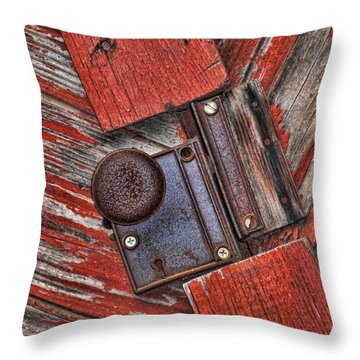 Rusty Dusty And Musty Throw Pillow by Kathy Clark