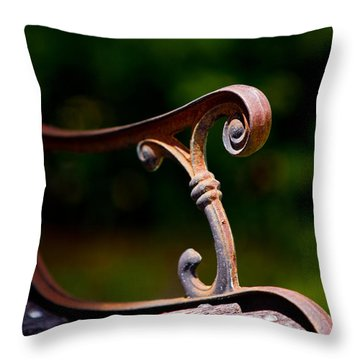 Rusty Rest Throw Pillow by Christopher Holmes