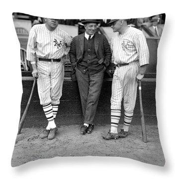 Ruth, Dunn And Bentley Throw Pillow by Granger