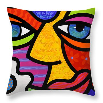 Sabrina Starr Throw Pillow