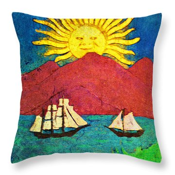 Safe Harbor Throw Pillow by Bill Cannon