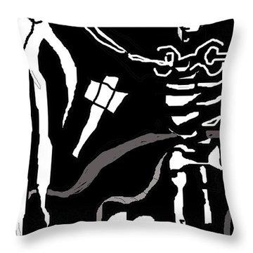Saint Bartholomew Throw Pillow