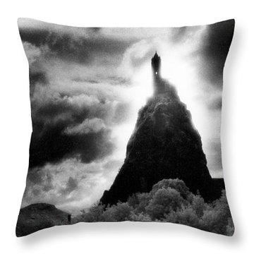 Saint Michaels Church Throw Pillow by Simon Marsden