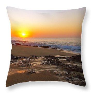 Salida Del Sol Sunrise Throw Pillow