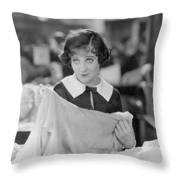 Sally Oneil: Becky, 1927 Throw Pillow by Granger