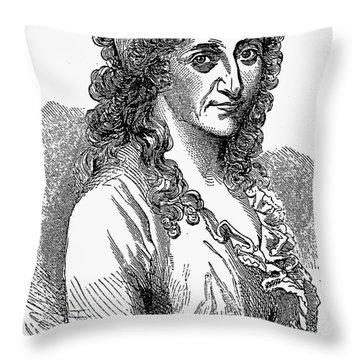 Sally Walker Thompson Throw Pillow by Granger
