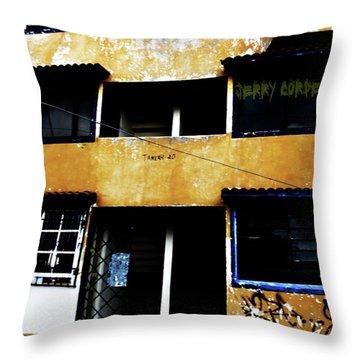 Salsa Throw Pillow by Jerry Cordeiro