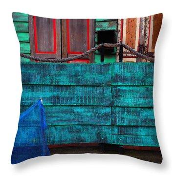 Salsa Throw Pillow by Skip Hunt