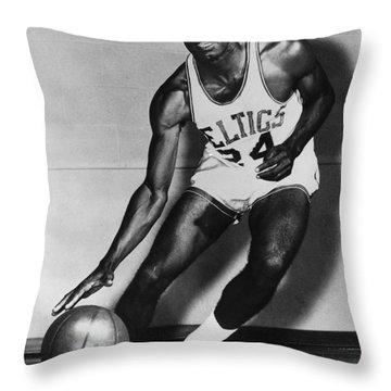 Samuel Jones (1933- ) Throw Pillow by Granger