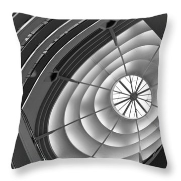 Throw Pillow featuring the photograph San Francisco Architecture by Shane Kelly