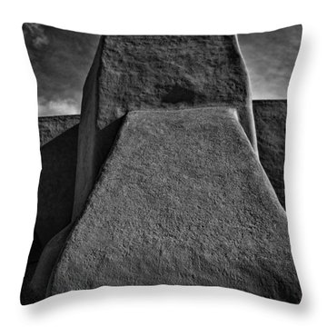 San Francisco De Asis Mission Church Throw Pillow by John Hansen