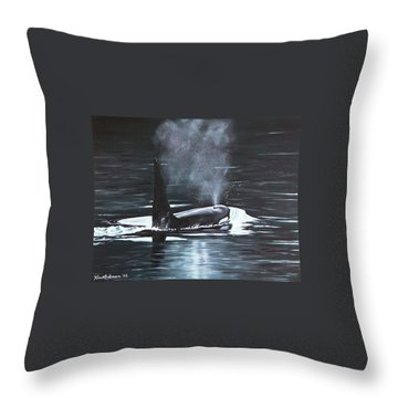 San Juan Resident Throw Pillow