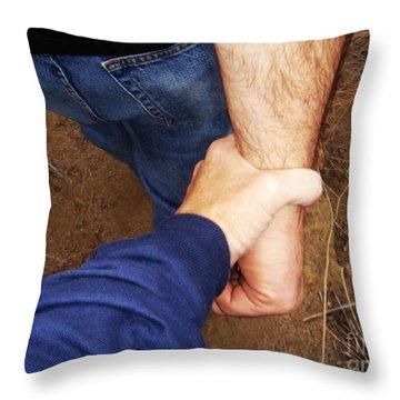 San Pasqual Battlefield Throw Pillow by Linda Shafer