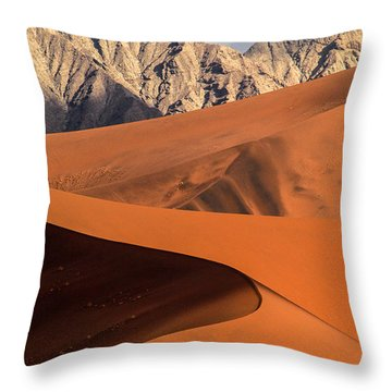 Sand And Stone Throw Pillow