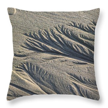 Sand Formations Throw Pillow