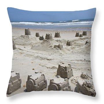Sandcastle Throw Pillow