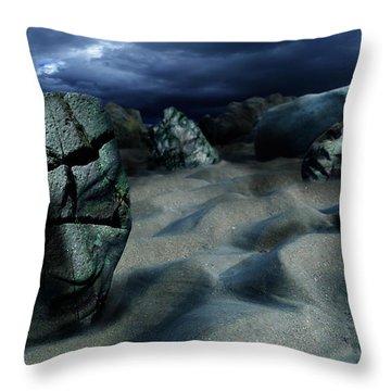 Sands Of Oblivion Throw Pillow