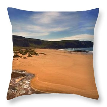 Sandwood Bay Throw Pillow