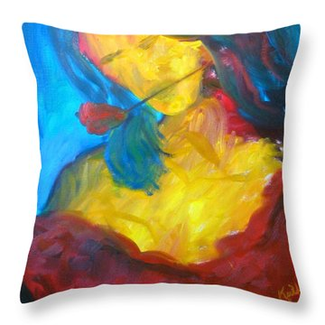 Sangria Dreams Throw Pillow by Keith Thue
