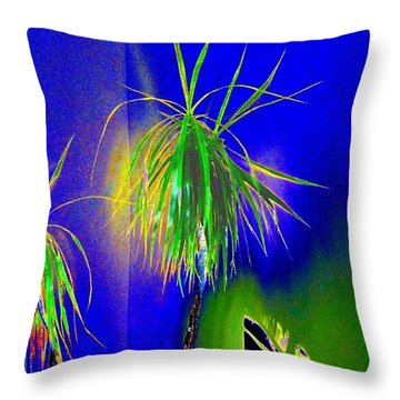 Throw Pillow featuring the digital art Sanguinity by Will Borden