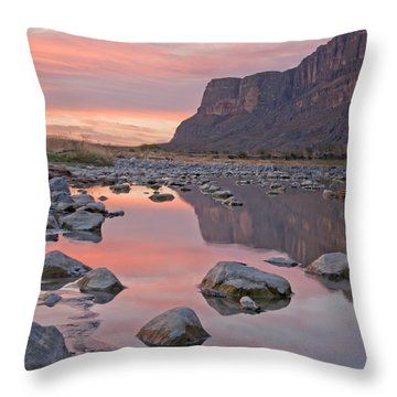 Santa Elena Throw Pillow