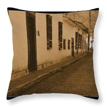 Santa Fe No IIi Throw Pillow