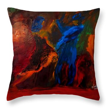 Saticha Throw Pillow by Keith Thue