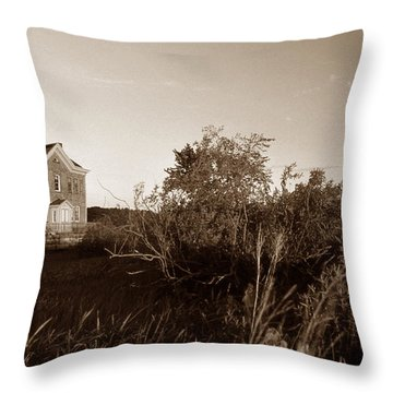 Saugerties Lighthouse Throw Pillow by Skip Willits
