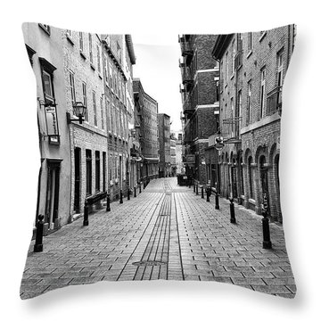 Sault-au-matelot Throw Pillow by Eunice Gibb