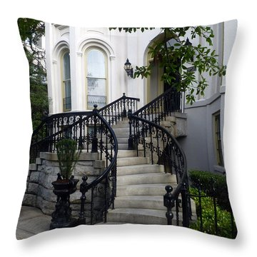 Savannah Stairway Throw Pillow